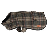 Ancol Heritage Green Check Dog Coat