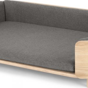 Kyali Dog Sofa, Natural ash and Grey, L/XL