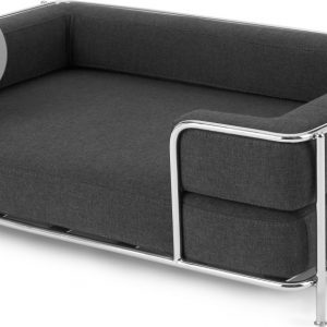 Piet Pet Sofa, Chrome and Grey, S/M
