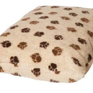 Fleece Paw Print Deep Duvet