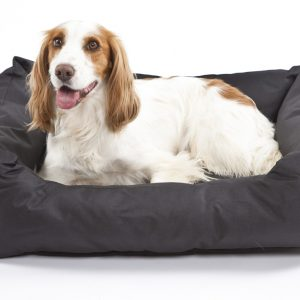 Settledown Rectangular Dog Beds Black