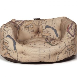 Vintage Maps Deluxe Slumber Bed