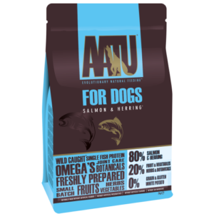AATU 80/20 Salmon & Herring Adult Dog Food 5kg