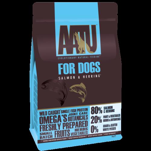 AATU 80/20 Salmon & Herring Adult Dog Food 5kg