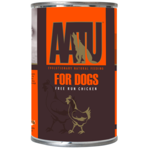 AATU Chicken Wet Dog Food 400g x 6
