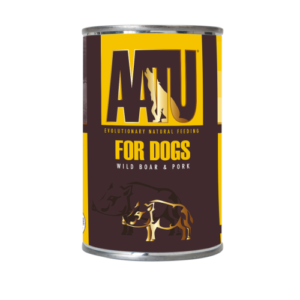 AATU Wild Boar & Pork Wet Dog Food 400g x 6