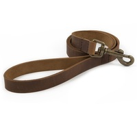 Ancol Heritage Latigo Leather Dog Lead