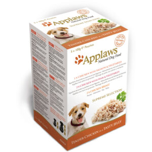 Applaws Supreme Selection Multipack Pouches Adult Dog Food 100g x 40