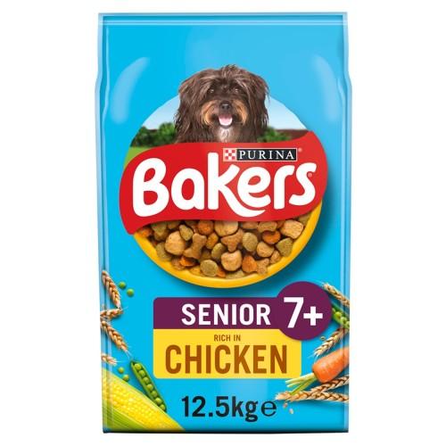 Bakers Chicken & Veg Senior Dog Food 12.5kg