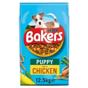 Bakers Chicken & Vegetable Puppy Food 12.5kg