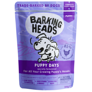 Barking Heads Puppy Days Wet Puppy Food 300g x 30