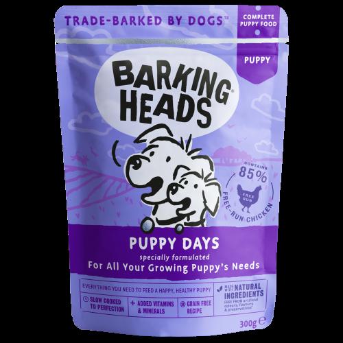 Barking Heads Puppy Days Wet Puppy Food 300g x 30