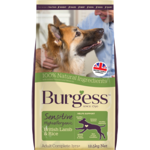 Burgess Complete Sensitive Lamb & Rice Adult Dog Food 12.5kg