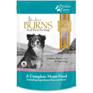 Burns Penlan Farm Chicken, Brown Rice & Veg Moist Dog Food 150g x 12