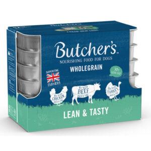 Butchers Lean & Tasty Low Fat Dog Food Trays 150g x 12