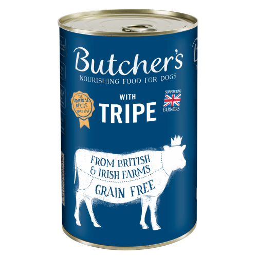 Butchers Tripe Dog Food Tins 400g x 12