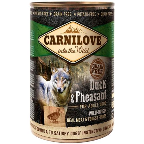 Carnilove Duck & Pheasant Adult Dog Food 400g x 18