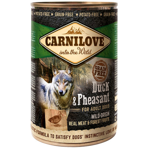 Carnilove Duck & Pheasant Adult Dog Food 400g x 6