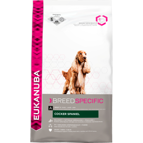 Eukanuba Cocker Spaniel Adult Dog Food 7.5kg