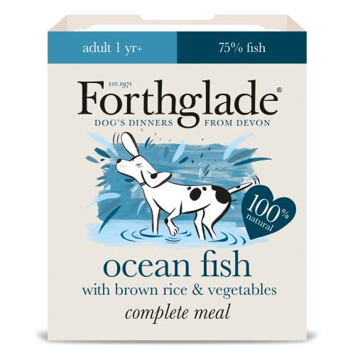 Forthglade Complete Fish Adult Dog Food 395g x 18