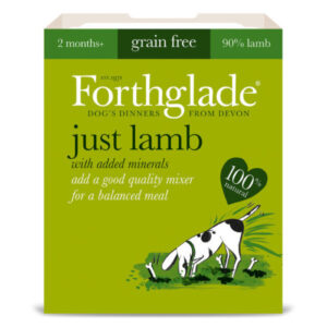 Forthglade Just Lamb Dog Food 395g x 18