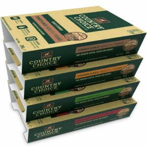 Gelert Country Choice Tray Varieties Wet Dog Food 395g x 12