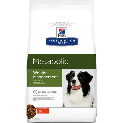 Hills Prescription Diet Metabolic Weight Management Chicken Dry Dog Food 1.5kg