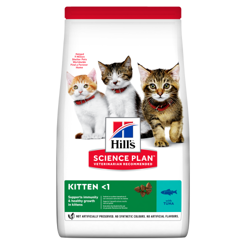 Hills Science Plan Tuna Dry Kitten Food 1.5kg
