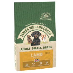James Wellbeloved Lamb & Rice Adult Small Breed Dog Food 1.5kg