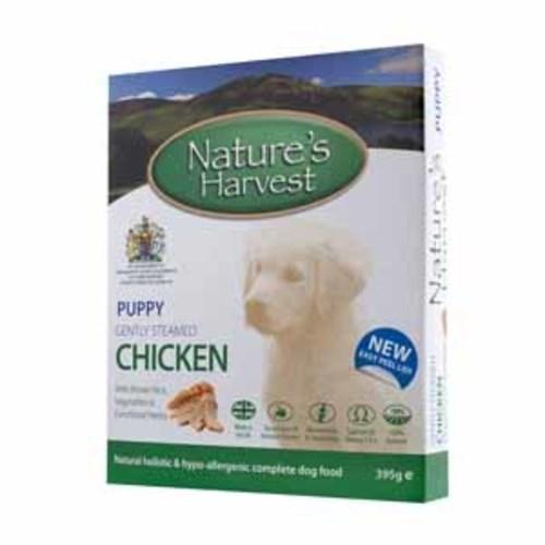Natures Harvest Chicken & Brown Rice Puppy Food 395g x 10
