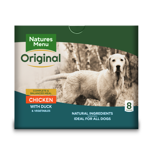 Natures Menu Chicken & Duck Adult Dog Food Pouches 300g x 40