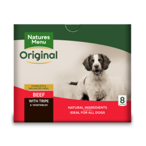 Natures Menu Original Beef & Tripe Adult Dog Food Pouches 300g x 40
