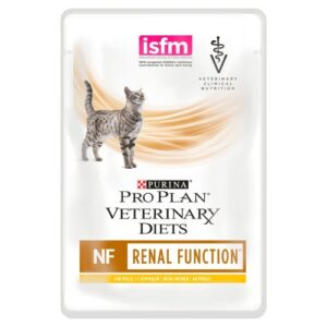 PURINA VETERINARY DIETS Feline NF Renal Function Cat Food 85g x 10 Pouches with Chicken