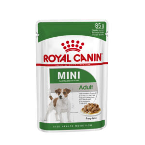 Royal Canin Mini Adult Wet Dog Food Pouches in Gravy 85g x 12