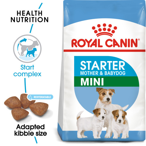 Royal Canin Mini Starter Mother & Babydog Dry Adult and Puppy Food 8.5kg x 2
