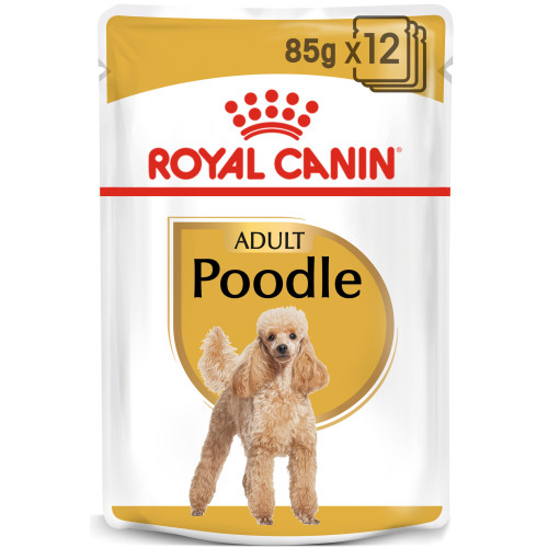 Royal Canin Poodle Wet Pouches Adult Dog Food 85g x 12