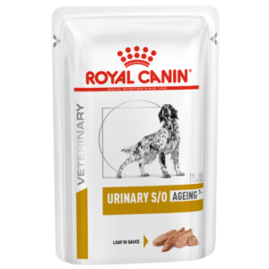 Royal Canin Veterinary Diets Urinary SO Ageing 7+ in Loaf Wet Dog Food 85g x 48