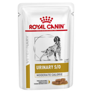 Royal Canin Veterinary Diets Urinary SO Moderate Calorie Thin Slices in Gravy Adult Wet Dog Food 100g x 48
