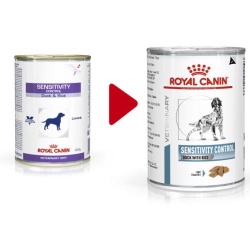 Royal Canin Veterinary Sensitivity Control Cans 420g x 12 Duck
