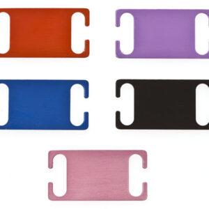 Slide on Collar Dog Tags Medium