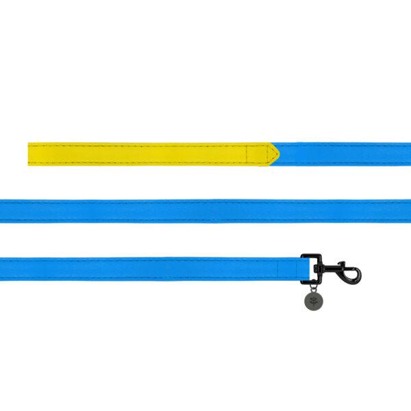 Sotnos Blue Colour Block Dog Lead