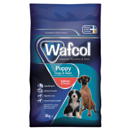 Wafcol Salmon & Potato Large & Giant Puppy Food 2.5kg