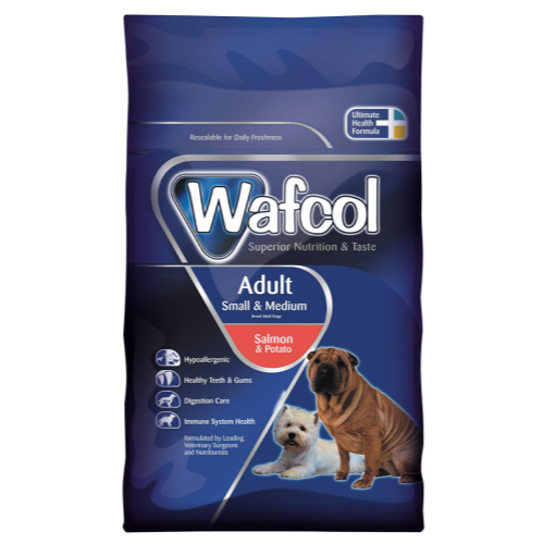Wafcol Salmon & Potato Small & Medium Adult Dog Food 2.5kg