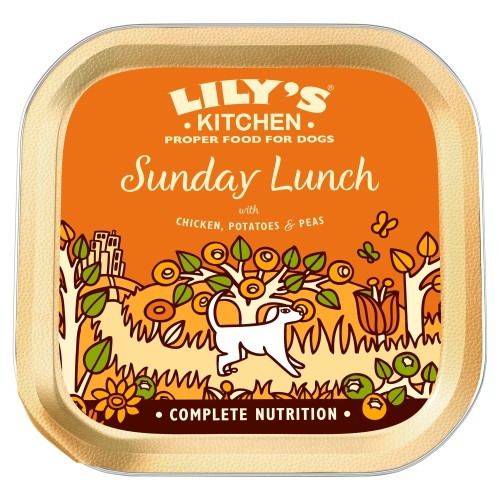 Lilys Kitchen Sunday Lunch Adult Dog Food 150g x 30