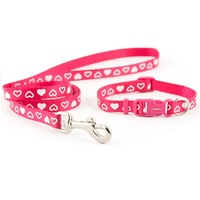 Ancol Small Bite Heart Collar & Lead Set