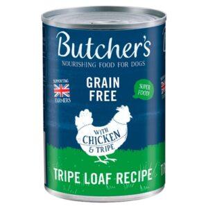 Butchers Tripe & Chicken Dog Food Tins 400g x 48